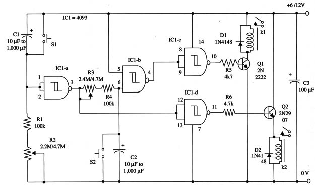 The Circuit Diagram Of The Lcd Oscilloscope Is Shown On Fig1
