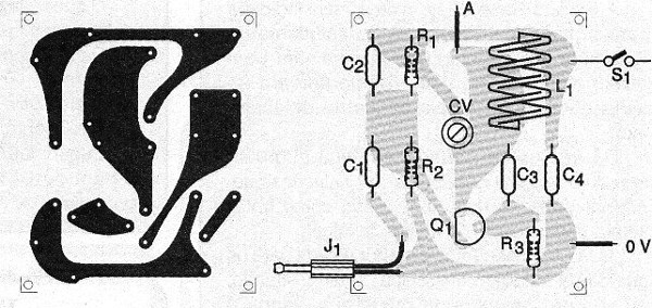 Figure 8 - Printed circuit board for the transmitter.
