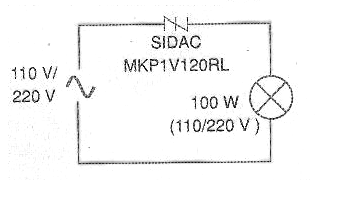 Figure 3 - Simple application for a SIDAC