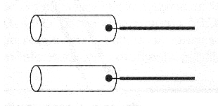 Figure 7 - Electrodes with metal tubes or spent batteries