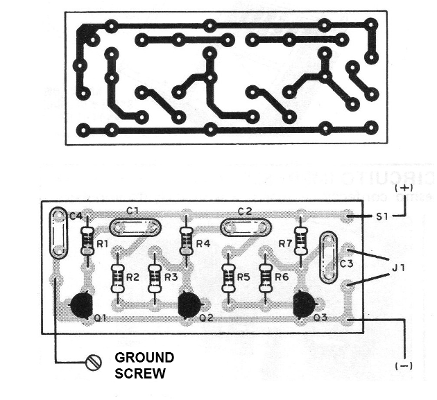 Figure 7 - Mounting board