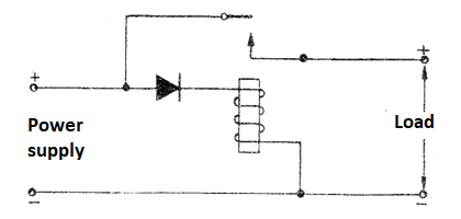 Figure 3 - Polarity Reversal Protection