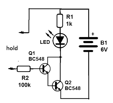 Sensor Darlington Touch (MSB060)