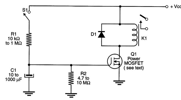Time Delay Relay Wiring   Delayed And Timed Relays In Mechatronics Mec055e