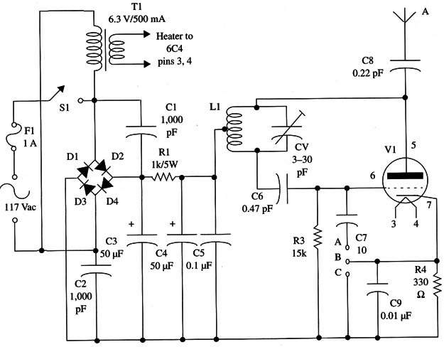 FM Transmitter Using a Vacuum tube (TEL008E)